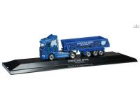 "Herpa Scania R HL dump semitrailer ""Sperl III"" Modellino"