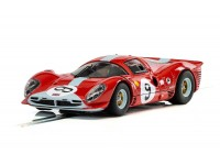 Scalextric 1/32 Ferrari 412 P N.9 Brands Hatch 1967 Modellino Slot Car