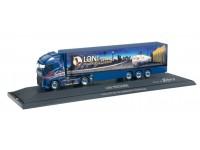 "Herpa Volvo FH Globetrotter XL ""Loni Trucking"" Modellino"
