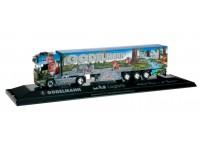 "Herpa Scania R TL ""Godelmann II / Mai Logistik"" Modellino"