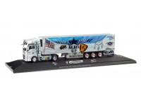 "Herpa MAN TGX XXL ""Truck Store Niebel / Sped. Meixner"" Modellino"