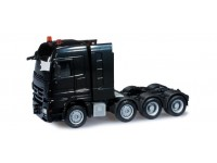 Herpa Mercedes-Benz Actros LH heavy-duty tractor nero Modellino