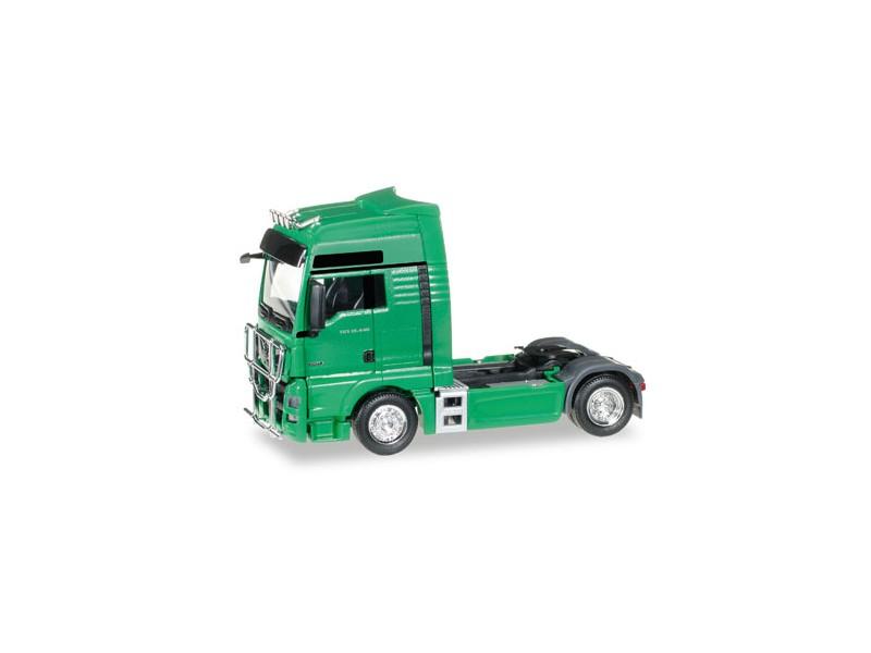 Herpa MAN TGX XXL Euro 6 verde menta Modellino