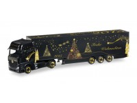"Herpa Mercedes-Benz Actros Gigaspace Schmitz ""Herpa Christmas Truck 2015"" Modellino"