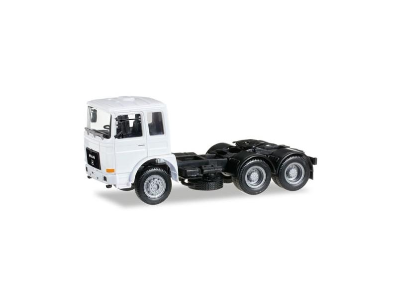 Herpa Roman Diesel 6x4 bianco Modellino