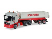 "Herpa Mercedes-Benz Actros L ""Schlenter Aachen"" Modellino"