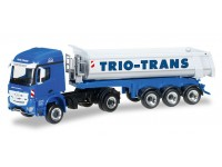 "Herpa Mercedes-Benz Arocs dump semitrailer ""Trio-Trans"" Modellino"