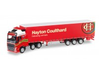 "Herpa Volvo FH Gl. XL ""Coulthard"" Modellino"