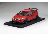 TOPSPEED 1/18 MUGEN CIVIC TYPE R MILANO RED MODELLINO