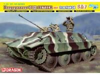 Dragon 1/35 Bergepanzer 38(t) HETZER mit 2cm FlaK 38 scatola di montaggio