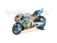 MINICHAMPS 1/12 HONDA RC213V TITO RABAT MOTOGP 2017 MODELLINO
