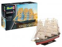Revell 1/200 vascello russo Kruzenshtern Modello in kit di Montaggio