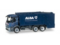 "Herpa Mercedes-Benz Antos garbage truck ""Alba"" Modellino"