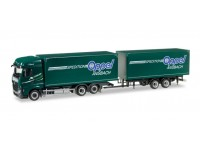 """Herpa Mercedes-Benz Actros Streamspace 2.5 """"Oppel Ansbach"""" Model"""