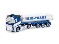 """Herpa Volvo FH """"Trio-Trans"""" Modellino"""
