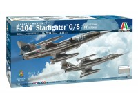 Italeri 1/32 f-104 starfighter g/s Upgraded edition rf version modello in kit di Montaggio