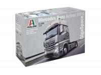 Italeri 1/24 mercedes benz actros mp4 gigaspace modello in kit di Montaggio
