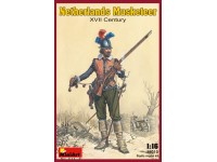 Miniart Netherlands Musketeer XVII secolo kit figurini in plastica
