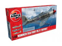 Airfix 1/48 Hawker Sea Fury FB.11 'Export Edition' Modello in kit di Montaggio