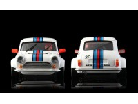 BRM Mini Cooper Martini n.20 White Edition Slot Car 1/24