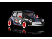 BRM Mini Cooper Martini n.79 Black Edition Slot Car 1/24