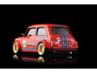 BRM Mini Cooper Martini n.28 Red Edition Slot Car 1/24