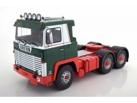 ROAD KINGS 1/18 MOTRICE SCANIA LBT 141 VERDE ROSSO 1976