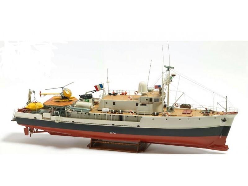 Billing Boats 1/45 nave per ricerche oceanografiche Calypso scatola di montaggio