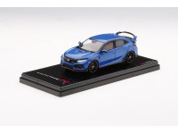 TSM MODEL 1/43 HONDA CIVIC TYPE R AEGEAN BLUE METALLIC RHD MODELLINO