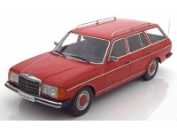 KK-SCALE 1/18 MERCEDES S123 T-MODEL 1978 ROSSA MODELLINO