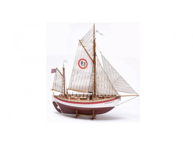 """Billing Boats 1/40 Cutter di salvataggio norvegese nr. 1 """"Colin Archer"""" scatola di montaggio"""