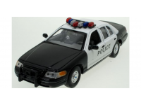 WELLY 1/18 FORD CROWN VICTORIA POLICE MODELLINO
