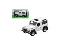 WELLY 1/24 LAND ROVER DEFENDER BIANCO MODELLINO