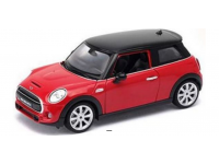 WELLY 1/24 NEW MINI HATCH ROSSA MODELLINO