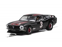 Scalextric 1/32 Ford Mustang Trans Am 1972 John Gimbel Modellino Slot Car