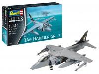 Revell 1/144 Bae Harrier GR.7 modello in kit di montaggio