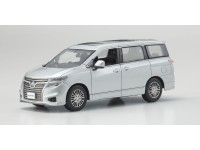 Kyosho 1/43 Nissan Elgrand Highway Star Brilliant Silver Metallic modellino