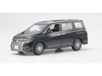 Kyosho 1/43 Nissan Elgrand Highway Star Phantom Black modellino