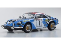 Kyosho 1/18 Renault Alpine A110 n.1 Rally Corsica 1973 modellino