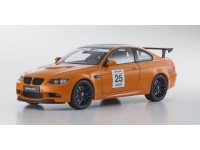 Kyosho 1/18 BMW M3 GTS (E92) Fire Orange N.25 modellino