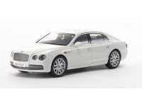 Kyosho 1/18 BENTLEY Flying Spur W12 bianco ghiaccio modellino