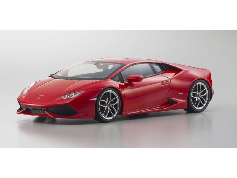 Kyosho Ousia 1/18 Lamborghini Huracan rosso metallizzato modellino