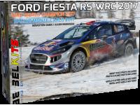 Belkits 1/24 Ford Fiesta WRC Rally di Montecarlo 2017 scatola di montaggio