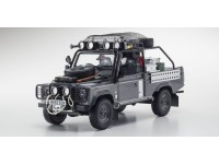 Kyosho 1/18 Land Rover Defender movie edition Corris Grey modellino