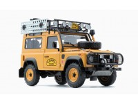 ALMOST REAL 1/18 LAND ROVER DEFENDER 90 CAMEL TROPHY EDITION MODELLINO