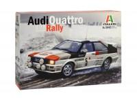 Italeri 1/24 Audi quattro n.5 rally Monte Carlo 1981 Scatola di Montaggio
