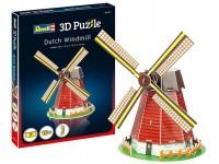 Revell 3D Puzzle modellino mulino a vento olandese