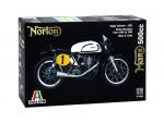 ITALERI 1/9 NORTON MANX 500cc 1951 SCATOLA DI MONTAGGIO
