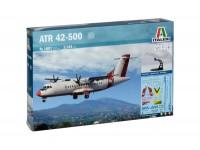ITALERI 1/144 ATR 42-500 MODELLO IN KIT DI MONTAGGIO
