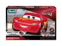 Revell 1/24 Easy click system Lightning McQueen Modello in kit di Montaggio